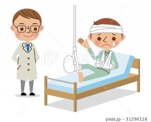 入院イラスト