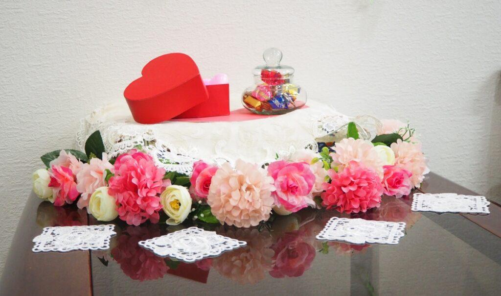 原田事業所のバレンタイン